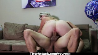 jiggling tits get fucked